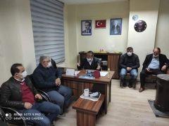 İskilip CHP Teşkilatı, AK Parti 'ye Hayırlı Olsun Ziyaretinde Bulundu