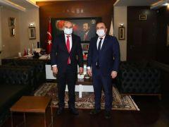 Keçiören Belediye Başkanı Sayın Turgut Altınok'u davet etti