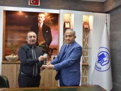 Türkiye Mehmetçik Vakfı Başkanı Samsun Bölge Müdürü Başkanı ziyaret etti